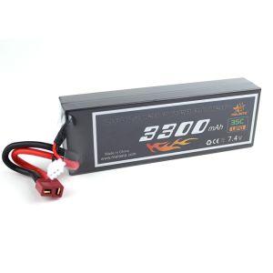 Li-Po 7,4V (2s) 3300mAh T-kontakt